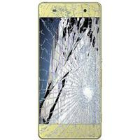 Sony Xperia XA LCD Display & Touchskærm Reparation - Lime Guld