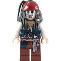 Lego figur pirates caribbean jack sparrow skeleton lf20-1