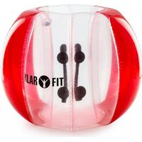Bubball KR Bubble Ball Uppblåsbar Fotboll Vuxen 120x150cm EN71P PVC röd