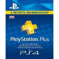 PlayStation Plus 90 Days/3 Month Membership PSN CARD UNITED KINGDOM