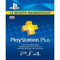 PlayStation Plus 365 Days/12 Month Membership PSN CARD UNITED KINGDOM