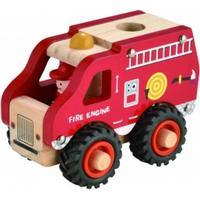 Imagetoys brandbil i træ