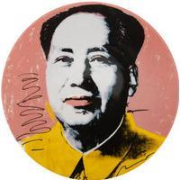 Andy Warhol Plate - Mao - Yellow Jacket