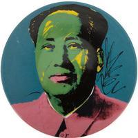 Andy Warhol Plate - Mao - Pink Jacket