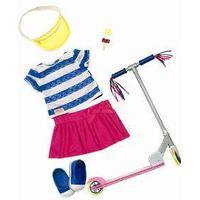 Dukketøj og løbehjul til Our Generation.