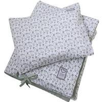 Littleheart Little Anemones Green Bed Set for Crib