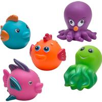 Rätt Start Badleksaker Sjödjur 5 Pack