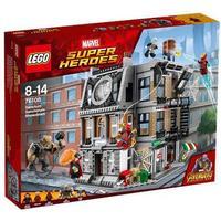 Lego Marvel Super Heroes Opgør i Dr. Stranges Allerhelligste 76108