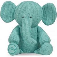 Jollein, Mjukisdjur Kabelstickad - Elefant Turkos