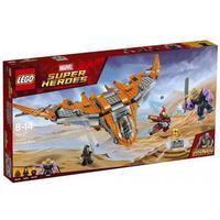 Lego Marvel Super Heroes Thanos: Den Ultimative Kamp 76107