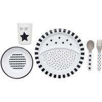 Jabadabado Black White Dinnerware