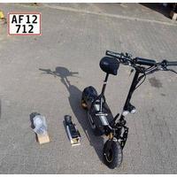 STRADA RIDER EL scooter, foldbar - knallert 30-45 km/t