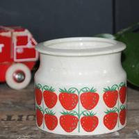 Arabia Marmeladekrukke Jordbær