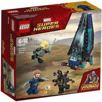 Lego Marvel Super Heroes Outrider Dropship Attack 76101
