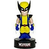 NECA 15 cm Marvel Wolverine Solar Powered Bobble Head Body Knocker