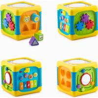 Junior Knows Activity Cube with Light & Sound for Babies