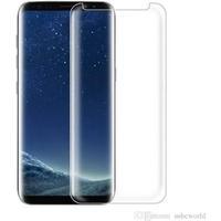Samsung Galaxy G930F S7 Panserglas- Gennemsigtig Displaybeskytter - Hærdet Displaybeskytter  Krystalklar Displaybeskytter 3D Curved Transparant