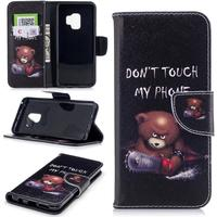 """Samsung Galaxy S9 Cover m. Pung Tough Bear """"Don't Touch My Phone"""""""