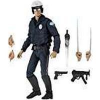 Terminator 2 51914 Ultimate T-1000 Motorcycle Cop Figure, 7-Inch