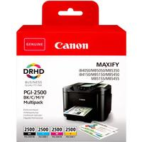 Multi Pack! Canon PGI-2500 BK/C/M/Y 4 st. bläckpatron 57,9ml original 9290B004