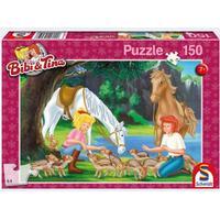 Schmidt Spiele 56050 - Puzzle - Am Steinbruch, 150 Teile