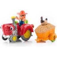 Junior Knows Hinderundvikande Traktor med Ljus och Ljud