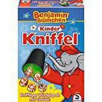 """Schmidt Spiele 40390 """"Benjamin The Elephant Yahtzee Game"""
