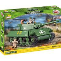 COBI Byggeklodser WW2 M-10 WOLVERINE Tank- 450 Klodser - C2475