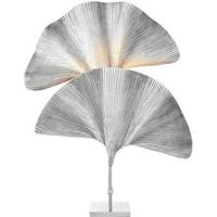 Eichholtz Las Palmas Messing Bordlampe - Sølv