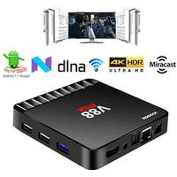 MTP Products Scishion V88 Piano 4K Android 7.1 TV Box med 4GB RAM