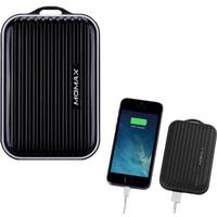 MOMAX PowerBank Mini - Traveling Case 8400mAh Sort