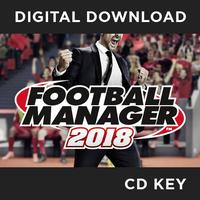 Football Manager 2018 PC & MAC & Linux Game PC Key Download for Steam