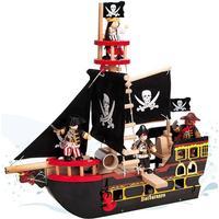 Le Toy Van - Barbarossa Piratskib i træ
