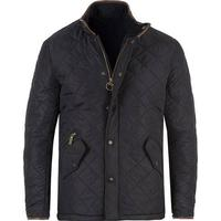 Barbour Lifestyle Powell Quilted Jacket Navy