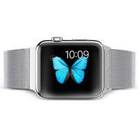 Apple Watch (42mm) TOTU Milanese Rustfrit Stål Rem inkl. Stifter - Sølv