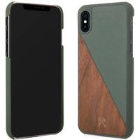 Woodcessories EcoSplit Wooden Leather Case (iPhone X)