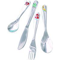Steel Function Happy Heads Cutlery 4pcs