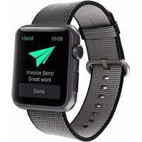 Gili rem i Nylon til Apple Watch-Sort-42 mm