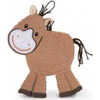 Egmont Toys Waschhandschuh, Waschlappen, Baby-Waschhandschuh Motiv: Pferd, in braun