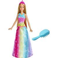 Mattel Barbie Dreamtopia Brush 'N Sparkle Princess
