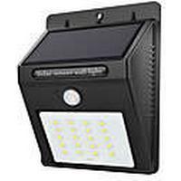1pc 2 W LED-sollamper Vandtæt / Infrarød sensor / Lysstyring Hvid 3.7 V Udendørsbelysning 20 LED Perler
