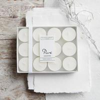 The White Company Unscented Tealights - Set of 12
