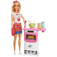 Mattel Barbie Bakery Chef Doll & Playset