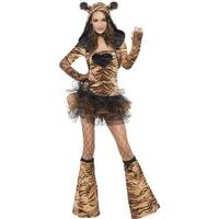 Smiffys Fever Tiger Costume