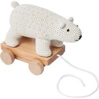 Sebra Crochet Pull Along Polarbear
