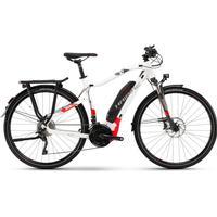 Haibike SDURO Trekking 6.0 men 500Wh 20-Sp XT - 18 HB YWC white/red/anthracite - E-Bikes XXL