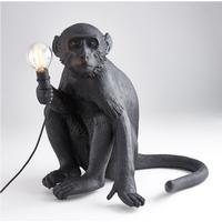 Seletti The Monkey Sitting Version Bordlampe