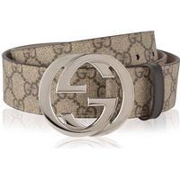 Gucci GG Supreme Belt Beige/Ebony