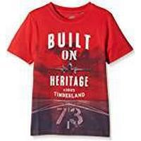 Timberland Boy's T-Shirt - Red - 4 Years