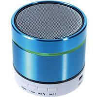S07D Bluetooth Mini Højtaler med Mikrofon - Blå.